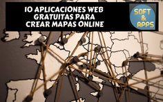 Crear mapas online es muy sencillo, y puede resultar muy útil, con cualquiera de estas 10 aplicaciones web gratuitas que hemos seleccionado para ti.