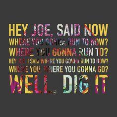 Jimi Hendrix - Hey Joe Album: Are You Experienced? (1967)