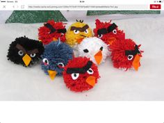 Angry  birds - tupsut