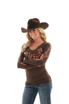 Cowgirl Tuff Blessed.  www.thefunkycowgirl.com