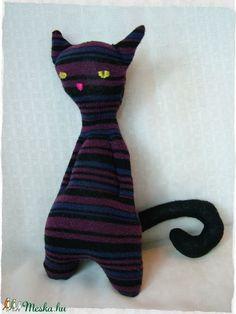 Vagány - csíkos cica (Blackata) - Meska.hu
