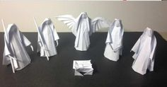 Presepe fai da te con gli origami