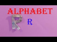 money origami alphabet letters R xếp chữ R = tiền - gấp giấy origami - YouTube Dollar Origami, Money Origami, Origami Easy, Origami Alphabet, Origami Letter, Origami Youtube, Diy Paper, Paper Crafts, Letters