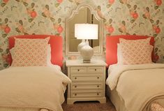 twin bedroom | Katie Grace Designs