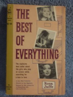 The Best Of Everything Rona Jaffe  Cardinal by SevenSistersBooks