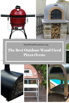 Who doesn't love pizza from a wood fired oven? These ovens are fantastic - they heat up quickly and retain the heat for a long time. Wood Fired Oven, Wood Fired Pizza, Fire Pizza, Pizza Ovens, Backyard, Patio, Firewood, Old Things, Gardening