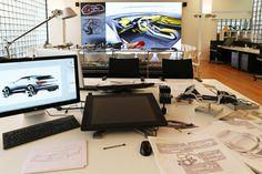 AUDI concept design studio