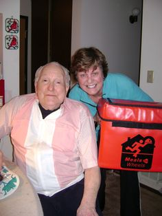 """Another pinned wrote: """"A Meals on Wheels client and volunteer from Queensland, Australia!""""  Started volunteering for Meals on Wheels today.  Very satisfying :)"""