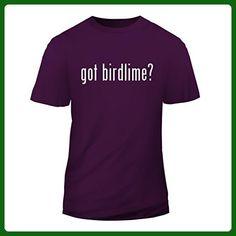 got birdlime? - New Short Sleeve Adult Men's T-Shirt, Purple, X-Large - Animal shirts (*Amazon Partner-Link)