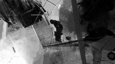 Dream 00 on Behance Sergey Kolesov, Thumbnail Sketches, Cg Artist, Matte Painting, Environment Concept, Animation Film, Storyboard, Digital Illustration, Art Inspo