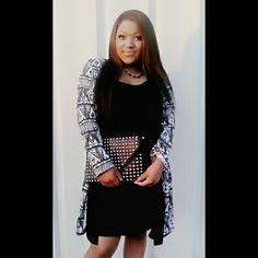 Black Tribal Dress