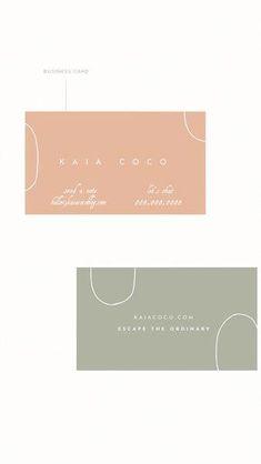 Kaia Premade Branding Suite // $525