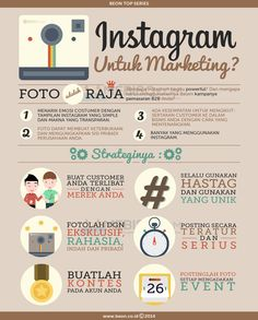 [Infografis] Instagram Untuk Marketing