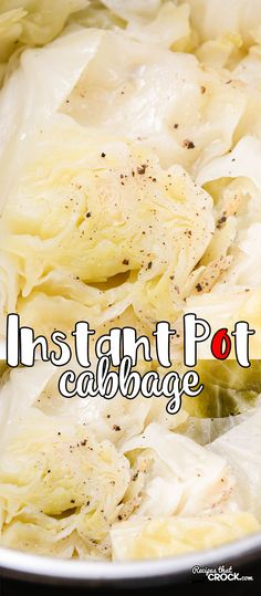 Are you looking for a quick and easy way to make boiled cabbage that tastes like the dish grandma used to make? Our Instant Pot Cabbage is the electric pressure cooker version of our family recipe for an amazing side dish that happens to be low carb too!