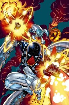 Cosmic Spider-Man by Mike Wieringo, Karl Kesel, Paul Mounts (from Friendly Neighborhood Spider-Man #3)