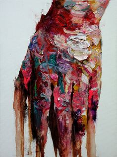 """""""[82] untitled oil on panel 60 x 45 cm 2013"""" by KwangHo Shin; Oil, Painting"""