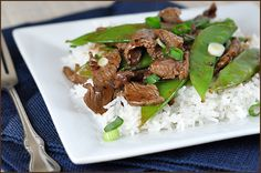 beef stir fry, i added more veggies and doubled the sauce and it was fantastic, made it twice this week. m.m