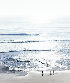 """""""...I live; I die; the sea comes over me; It's the blue that lasts."""" - Virginia Woolf, The Voyage Out"""