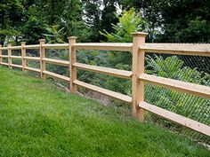 Southington Rustic Fence | CT Fence | Post & Wire Fencing | Ranch Rail