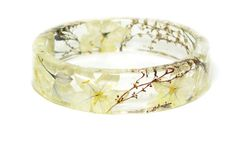 wedding jewelry  bridesmaids gifts   real flower jewelry  resin jewelry  flower jewelry