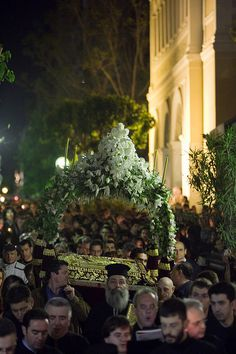Orthodoxy in Athens - Holy Friday Night Epitaphios Procession  Flickr - Photo Sharing!