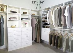 master+walk+in+closet+ideas | Closet Design Company - Walk in Bedroom Closets