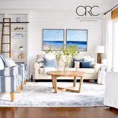 "Robyn on Instagram: ""It's reveal day for #oneroomchallenge guest participants! I'm happy to share #mycoastalcasual living / dining room transformation that has…"""