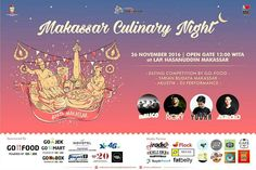 Makassar Cullinary Night @mcn_makassar is up again ! Come and step by this November 26th, 2016. Get our latest offering & promotion through this coolest event.  #on20makassar | on20makassar.com
