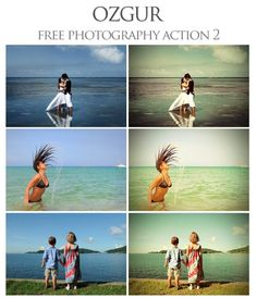 35 free actions for photoshop. Some are winners!