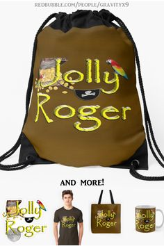 * Pirate Talk Text - Jolly Roger Drawstring Backpack by #Gravityx9 at Redbubble* pirate school backpack * back to school supplies high school * back to school supplies * back to school shopping * backpacks for teens * backpacks for school * school shopping list * school supplies * school supplies high school * backpack for adults * jolly roger pirate * jolly roger pirate backpack *  treasure chest backpack * #PirateDay #talklikeapirate #backtoschool #schoolbags #schoolshopping #backpacks… School School, School Bags, High School, Pirate Talk, Back To School Backpacks, Backpack For Teens, Back To School Supplies, Jolly Roger, Back To School Shopping