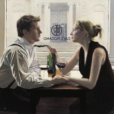 Romantic Lunch | Iain Faulkner, 1973