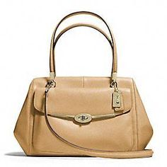 Coach :: Madison Madeline East/west Satchel In Leather