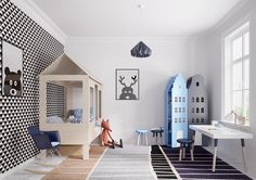 a variety of inspiring kids bedroom designs looks charming with a colorful and fun decoration inside, that can make your children enjoy to play inside.