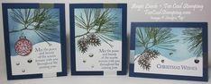 Ornamental Pine Class: Night Snow Scene
