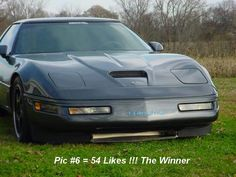 Hood Corvette C4, Dream Machine, Rally Car, Muscle Cars, Cool Cars, Badass, Transportation, Vintage, Beautiful