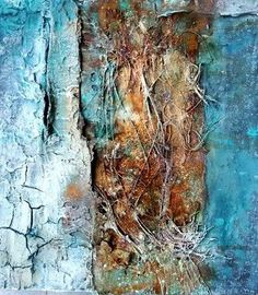 The Modern Art Movements – Buy Abstract Art Right Mixed Media Painting, Mixed Media Collage, Collage Art, Texture Art, Texture Painting, Modern Art Movements, Encaustic Art, Art Original, Watercolor Artists