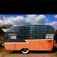 The coolest little winged trailer ever, Los Olivos, CA