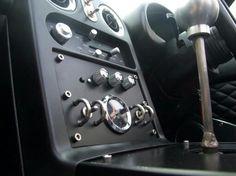 Sexy retro mx5 miata roadster interior