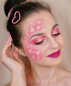 "Polubienia: 92, komentarze: 11 – 𝖫𝖨𝖥𝖤𝖲𝖳𝖸𝖫𝖤 l 𝖡𝖤𝖠𝖴𝖳𝖸 l 𝖥𝖠𝖲𝖧𝖨𝖮𝖭 (@annlifestyle) na Instagramie: ""💕 VALENTINE'S DAY💕 - Podkład @koboprofessional_official PRO Formuła, 01  Korektor @LOVELYKOSMETYKI…"" Two Hearts, Valentines Day, Carnival, Makeup, Face, Instagram, Valentine's Day Diy, Make Up, Carnavals"