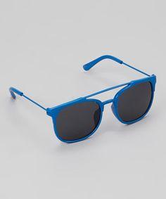 Loving this Blue Pilot Sunglasses on #zulily! #zulilyfinds