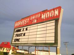 Location: Gibson City, IL Open: Weekends year-round; 7 days a week after Memorial Day This drive-in shows movies rain or shine, and features fun events like carnivals, a 5K race, and car shows. Best of all? Patrons can barbecue their own food while watching movies. For more info, visit Harvest Moon.