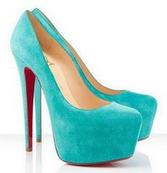 aqual -- with the platform this shoe wont feel like as high of a heal. The color is divine!