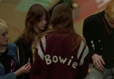 canyouwhoopit:  Christiane F, Directed by Uli Edel, 1981 - David Bowie Jacket