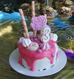 Our Shimmer And Shine Party Divine I loved sharing about our Pirate and Fairy party so much, that I decided to dive right into anot. Shimmer N Shine, Birthday Candles, Party, Life, Parties