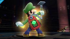Luigi uses the Poltergust 5000 in Super Smash Bros. as his new Final Smash.