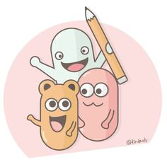 haaaii~ #characterdesign #vector #vectorart #cartoon