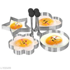 Checkout this latest Cookie Cutters Product Name: *Omelette Stencil ( Pack Of 4 )* Country of Origin: India Easy Returns Available In Case Of Any Issue   Catalog Rating: ★3.9 (287)  Catalog Name: Versatile Unique Other Home Utilities Vol 2 CatalogID_220719 C130-SC1640 Code: 812-1690474-834