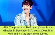 Exo Facts wooow really!!??