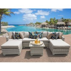 Found it at Wayfair - Fairmont 7 Piece Deep Seating Group with Cushion