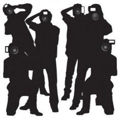 #Paparazzi #Hollywood #party #instant #theme #party decorations at #Contents. $12.90